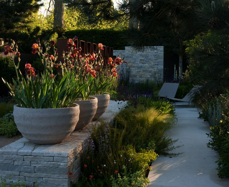 I designed this garden as a metaphor for the different journeys one can take through life. Several paths lead through the garden and the visitor is presented with a number...