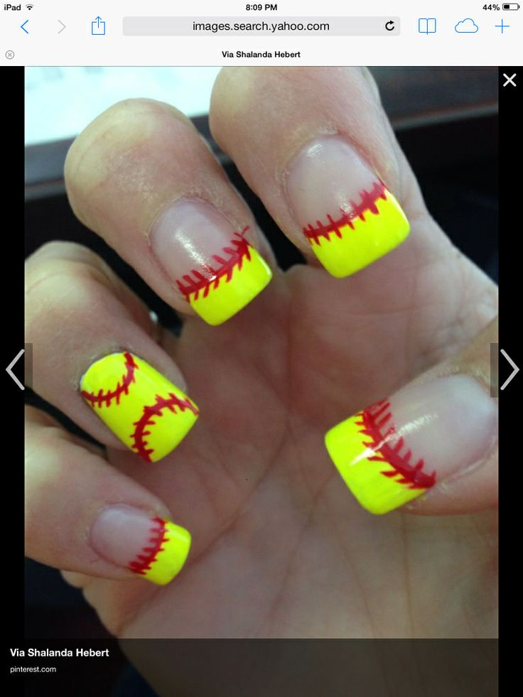Cute softball nails - 2794 Best Cool Nail Designs Images On Pinterest Make Up