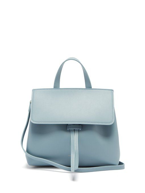 f1be392f74d Mansur Gavriel Mini Mini Lady leather cross-body bag | Bags ...