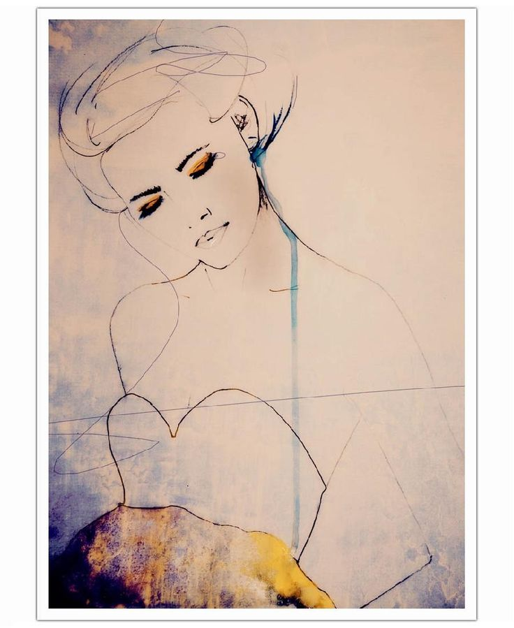 Abstractions Aside als Poster von Leigh Viner