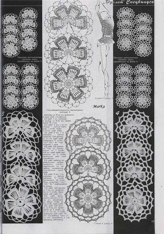 Схемы ленточного кружева (оченьмногофото) и как их можно применить - Страна Мам