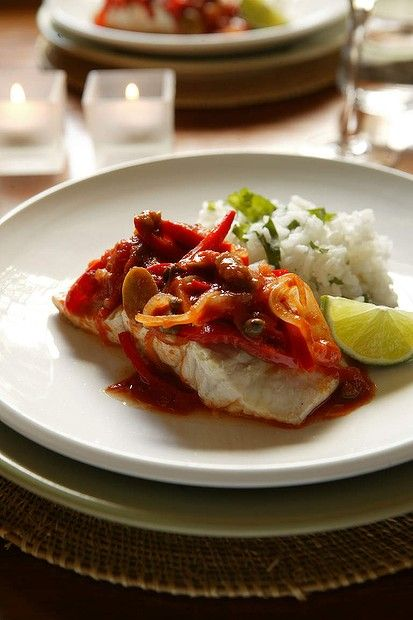 Jill Dupleix's Mexican baked fish with chilli and lime. Photo by Jennifer Soo.
