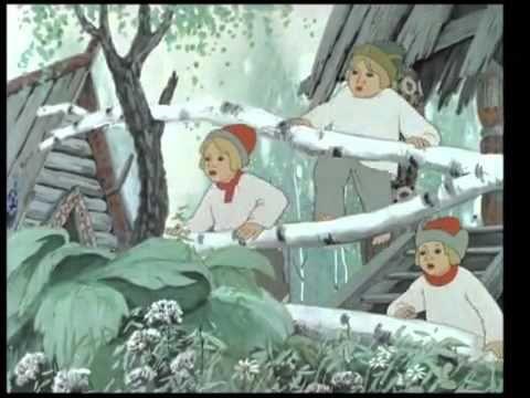 Мультфильм Снегурочка, 1952 год - YouTube