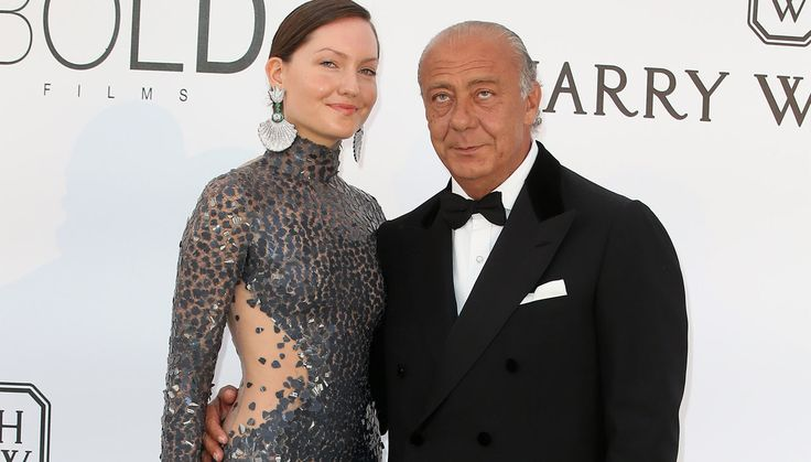 Sophie Taylor and Fawaz Gruosi AmfAR - de GRISOGONO
