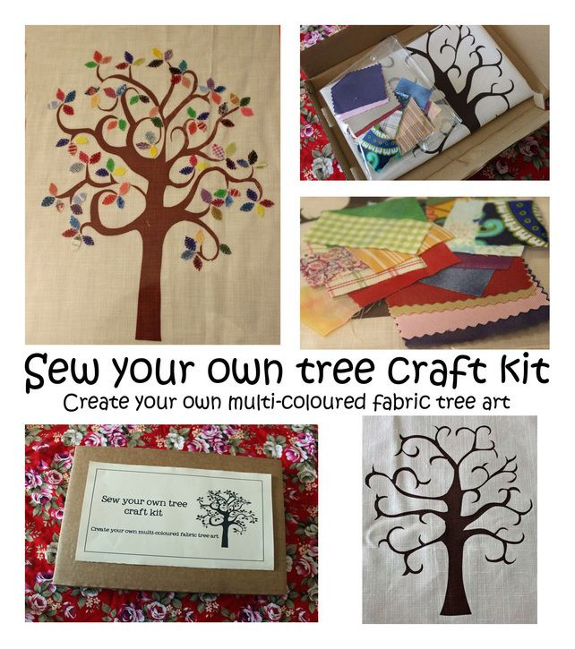 Sew your own tree Craft Kit