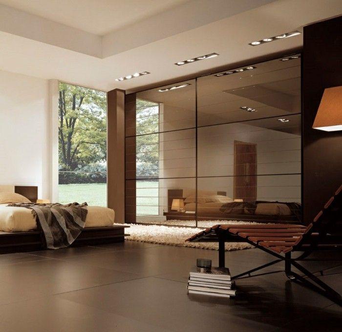 271 best Schlafzimmer Ideen u2013 Betten, Kleiderschränke, Kommoden - schlafzimmer modern braun