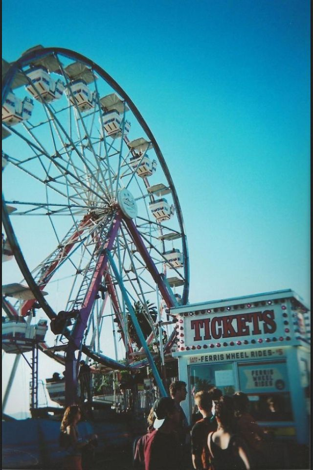 Summer isn't JUST about beaches, cool drinks, the sun and the sand. It's also spending time on a summer fair. ♥