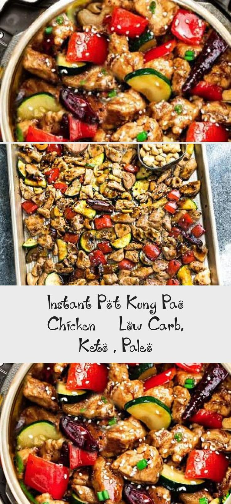 Instant pot kung pao chicken low carb keto paleo