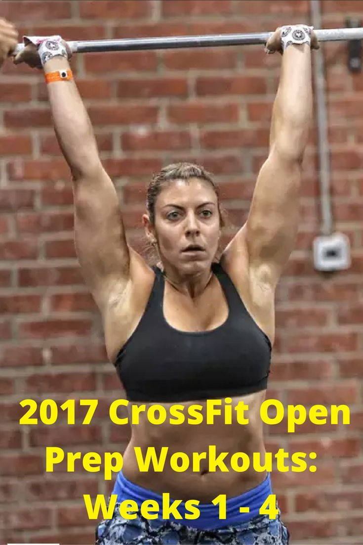 2017 CrossFit Open Preparation: 8 Weeks of Workouts and Coaching