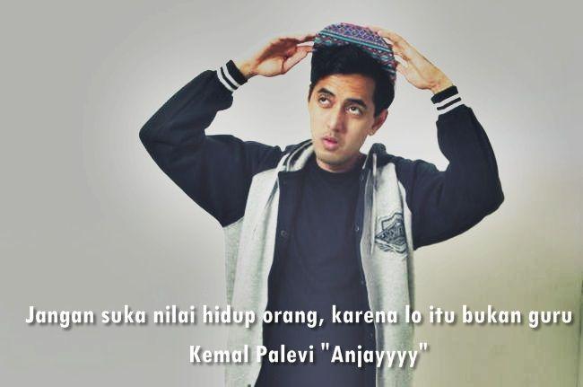 Lirik Lagu Kemal Palevi - Anjayyyy