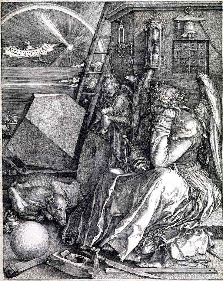 Dürer, Melencolia I. 1514