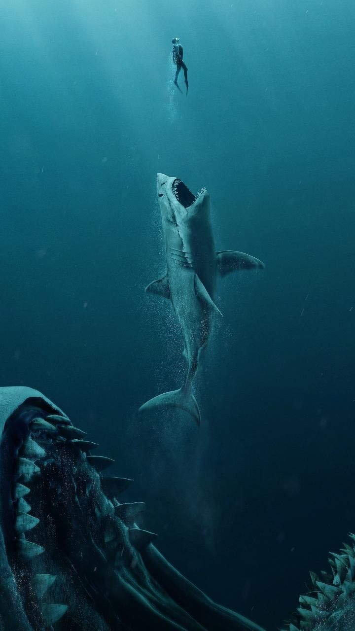Download The Meg 2018 4k Wallpaper By Pramucc 0c Free On Zedge Now Browse Millions Of Popular Creatures Scary Ocean Sea Creatures Drawing Ocean Wallpaper