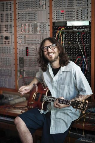 John Frusciante of the Red Hot Chili Peppers