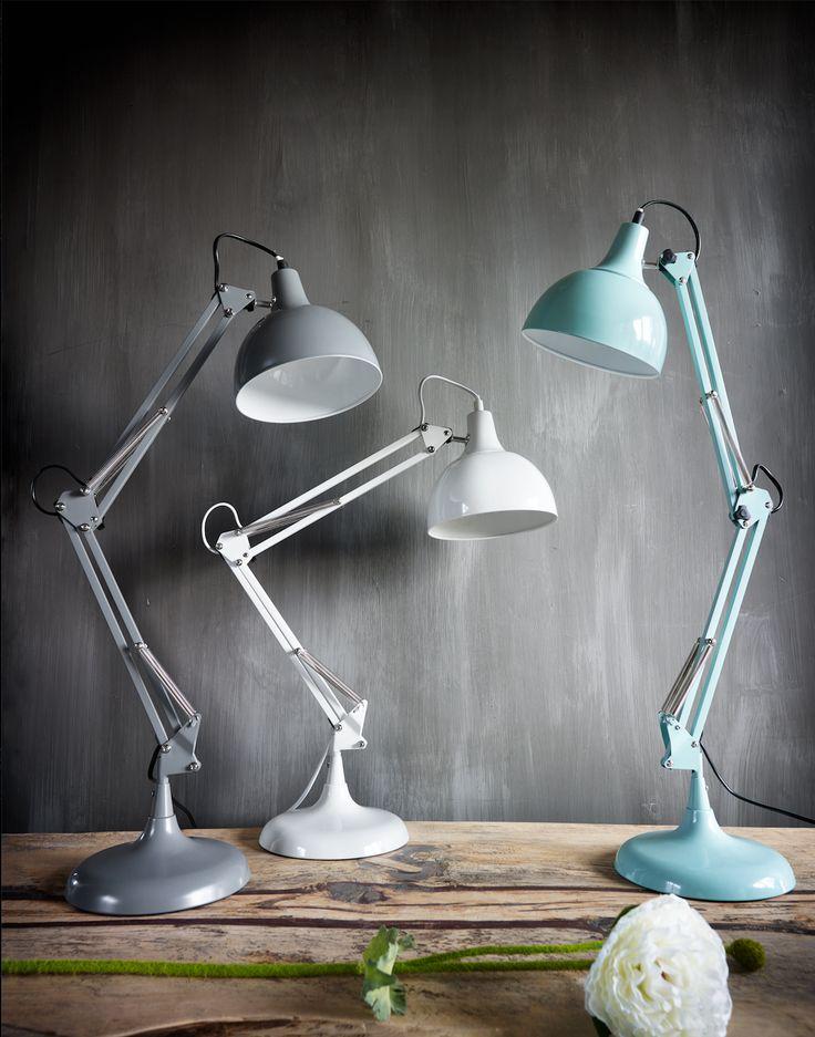 """Staande lamp """"Henderson"""" verschillende kleuren en afmetingen Pronto wonen"""