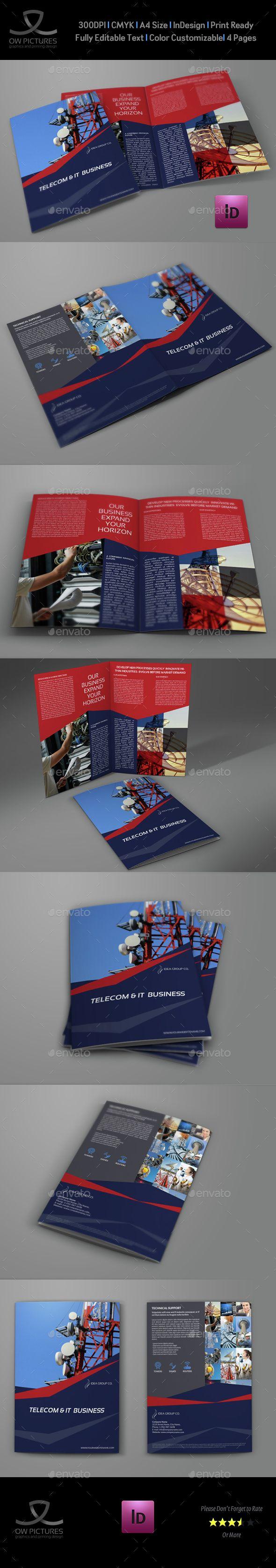 85 best Bi-Fold Brochure images on Pinterest | Brochure template ...