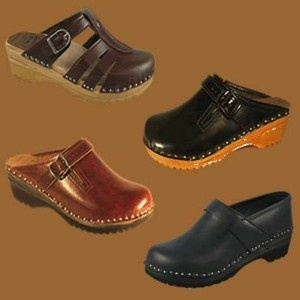 Clogs - loved these in the 1970's.  I think these were all I wore for years.  I was so sad I couldn't get them for a while.  Was thrilled to see there come back.