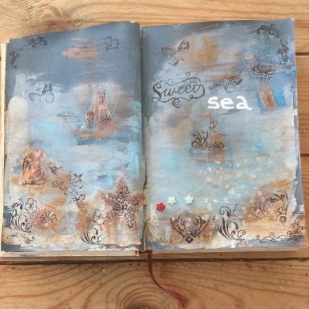 Artist Trading Books hoe het begon. Lees meer     Zoals ik al eerder heb laten zien ben ik begonnen met een Artist Trading Book (ATB) In eerste instantie voor mij zelf