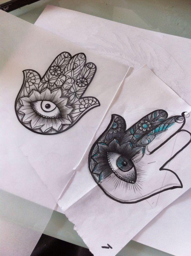 die besten 25 hand der fatima zeichnung ideen auf pinterest hamsa mandalas und. Black Bedroom Furniture Sets. Home Design Ideas
