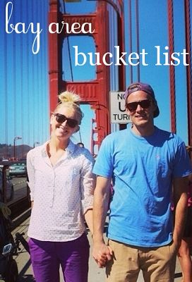 bay area bucket list - can already check off a good amount of them. Use as a resource when we want a new/different idea.