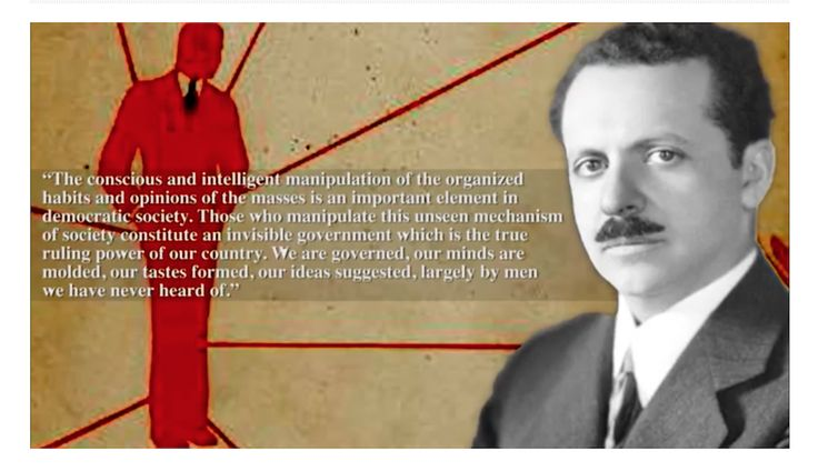 Want To Show Others HOW They've Been Brainwashed? Meet Edward Bernays, Master of Propaganda