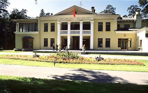 Vladimir Putin S Residence At Novo Ogaryovo