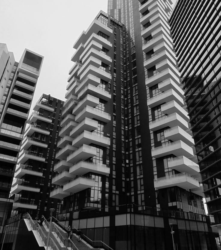 grattacielo a Garibaldi, Milano, Italia