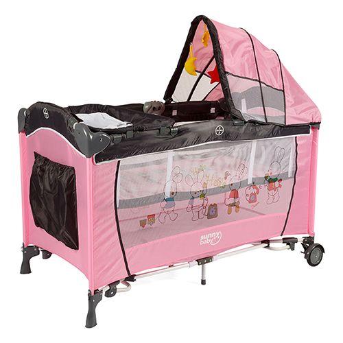 """Sunny Baby 601 Yeni Botanik Park Yatak 60x120 Pembe  http://www.ilkebebe.com/Bebek-Arabasi-Aksesuarlari/Bugaboo-Bee-Cift-Yonlu-Bebek-Arabasi-Siyah.aspx   SEPETE EKLE - Sürprizi Yakala Ürünün yanında hediye edilen veya indirim içerin ürünü görmek için lütfen """"sepete ekle"""" butonuna tıklayınız."""