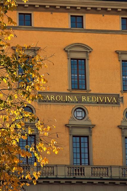 Carolina Rediviva (Uppsala University Library), Uppsala, Uppland, Sweden