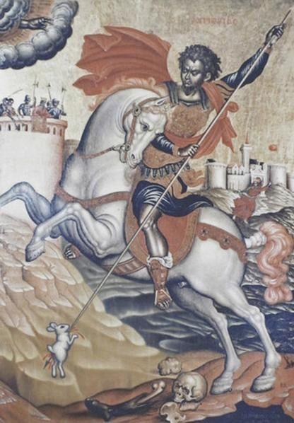 Saint George and the Rabbit of Caerbannog