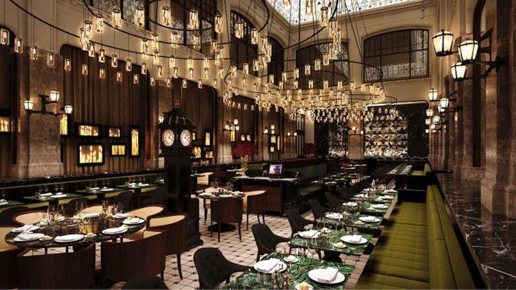 De 7 meest sfeervolle hotellobby's om je derde Kerstdag te spenderen