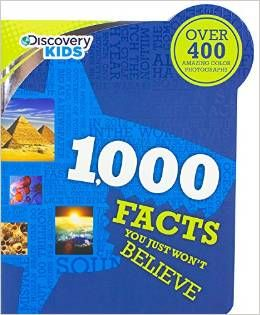 """Are you looking for a fun #summerread to share with your little ones? Why not check out our Discovery Kids '1000 Facts You Just Won't Believe'?   Our #BookBuddy In Our Spare Time reviewed it and absolutely enjoyed it.   """"This book is a fun way to keep kids learning over the summer without having them know they're learning. Definitely recommend."""""""