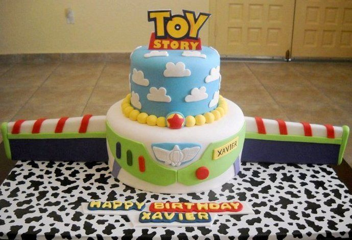 Toy Story/Buzz Lightyear Cake!