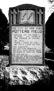 Hart Island in NY, Potters Field Cemetery