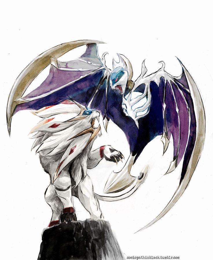 Pokémon Sun and Moon: Solgaleo and Lunalaa