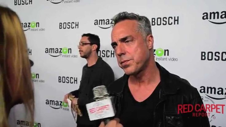 """#RedCarpetReport's Interview with Titus Welliver at the Premiere of """"Bosch"""" #BoschAmazon #AmazonStudios"""