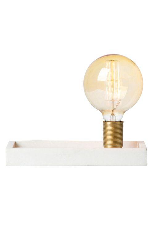 watt & VEKE Bordlampe Tracy marble