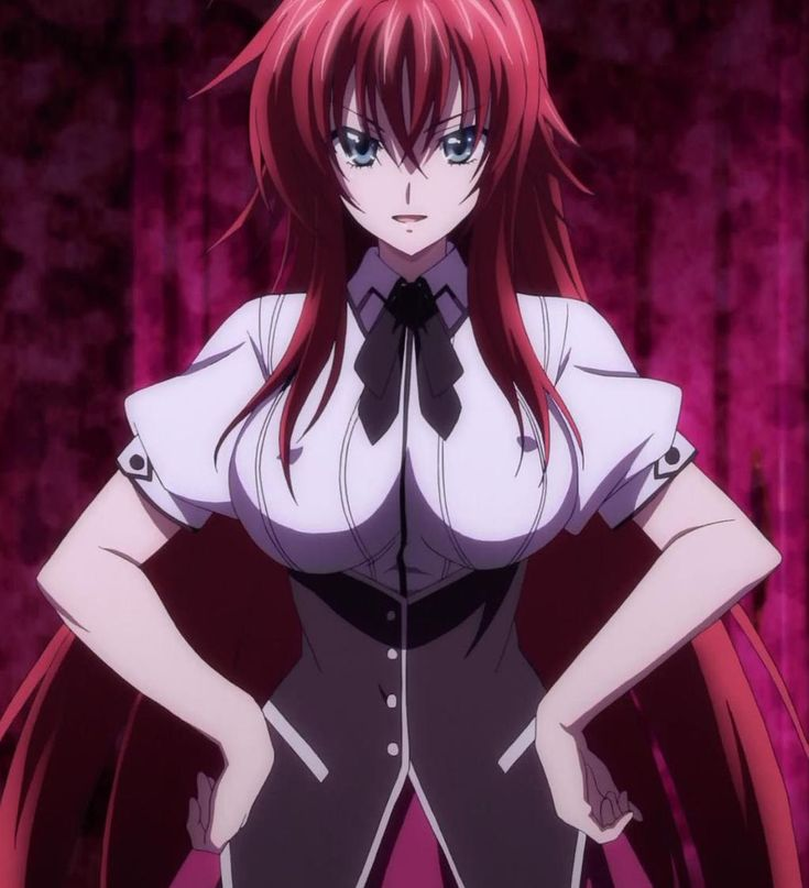 High School DXD NEW Stitch: Rias Gremory 04 by OCTOPUS