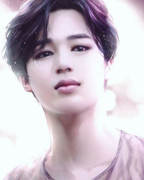Jimin looks so... pure or something else I don't know what but he's... like an angel !♥️