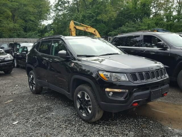 Salvage 2018 Jeep Compass Trailhawk Jeep Compass 2017 Jeep Compass