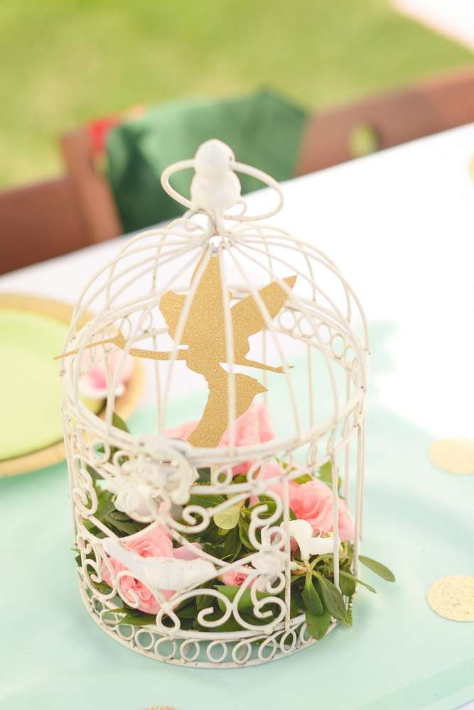Peter Pan / Tinkerbell Birthday Party Ideas | Photo 2 of 54 | Catch My Party