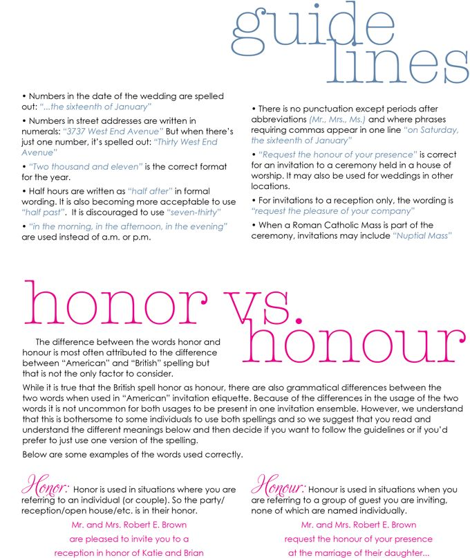 Wedding Invite Etiquette Wording: 58 Best Images About Etiquette & Manners On Pinterest
