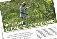 Ekoland,Voedselbossen, Duurzame landbouw, Agroforestry, Food Forestry, 7 lagen, Eerste voedselbos, Xavier San Giorgi, Wouter van Eck, Pieter...
