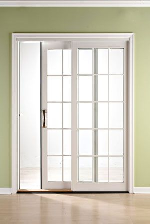 Best 25 sliding door treatment ideas on pinterest for Sliding glass doors that look like french doors