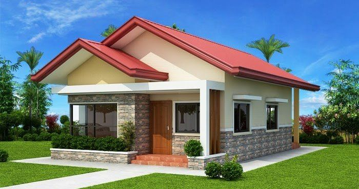 2 Bedroom Bungalow House Plans Fresh Thoughtskoto In 2020 One Storey House Bungalow House Design Two Bedroom House