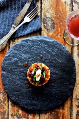 Talerz kamienny do serwowania SLATEPLATE NATURAL 3 w Garneczki - Wyposażenie Kuchni! na DaWanda.com
