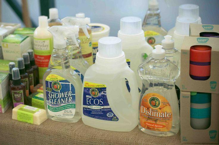 Detergentes ecológicos.