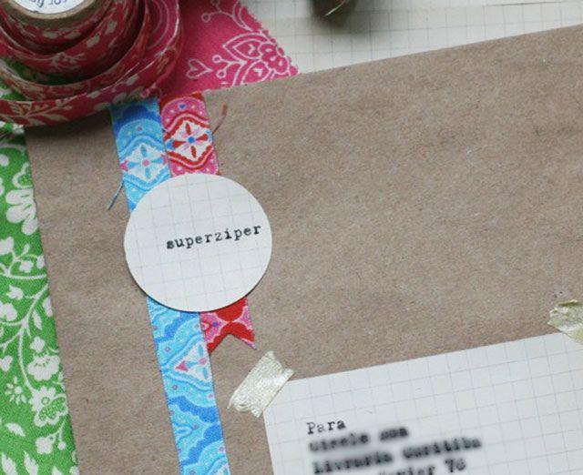 DIY: Fitas adesivas de tecido