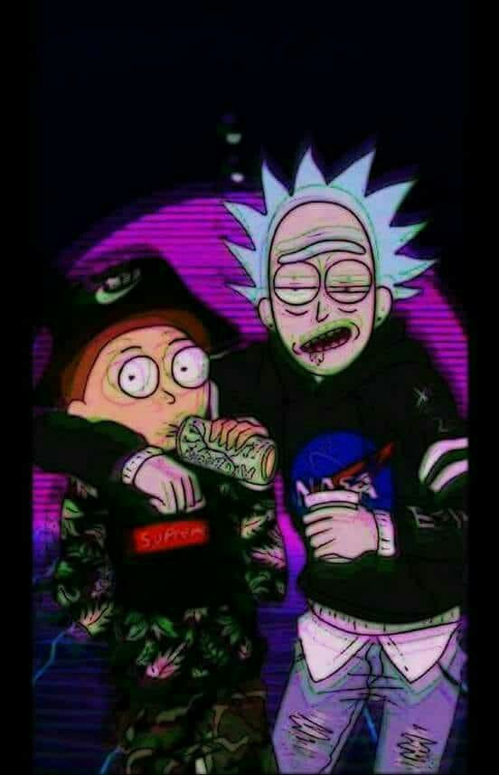 4k Wallpaper Fresh Dope Rick And Morty Wallpapers Hd