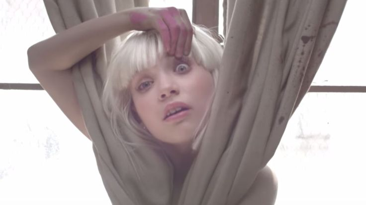 """Maddie Ziegler — who danced in Sia's """"Chandelier,"""" """"Elastic Heart,"""" """"Big Girls Cry,"""" and """"Cheap Thrills"""" music videos — looks totally different without the blonde hair."""