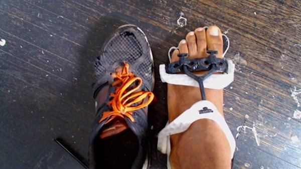 3ders.org - Maker Onyx Ashanti creates 3D printed 'exo-foot' footwear platform | 3D Printer News & 3D Printing News